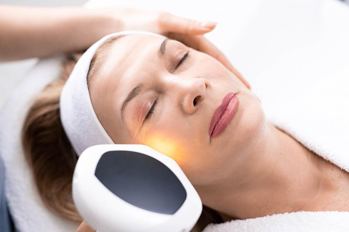 eye bag laser skin resurfacing