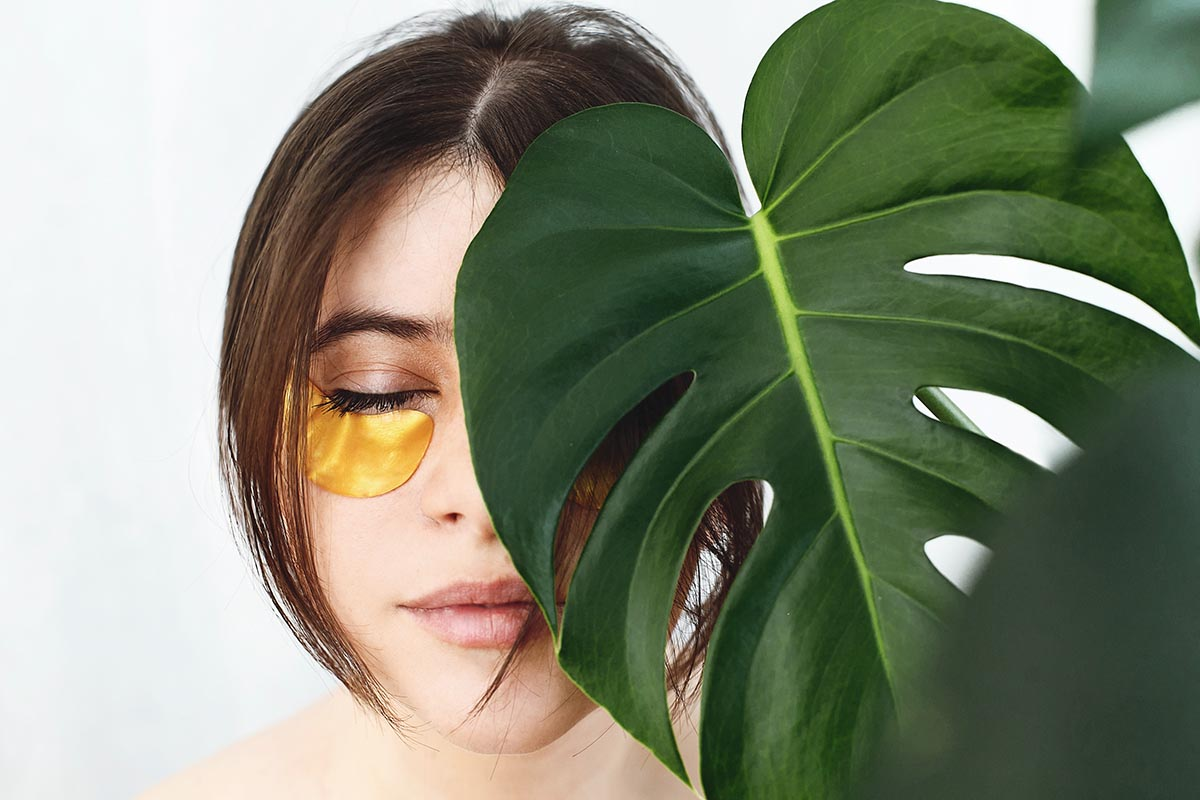 anti eye bag patches stimulating collagen production